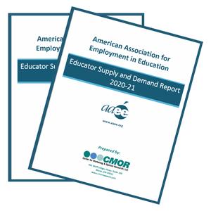 thumbnails 2020-2021 Educator Supply & Demand Report (Print Copies)